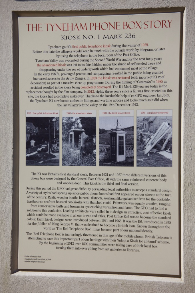 The Tyneham Phone Box story
