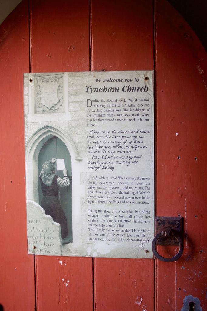 Welcome to Tyneham Church