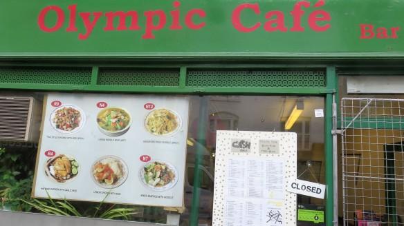 Olympics cafe