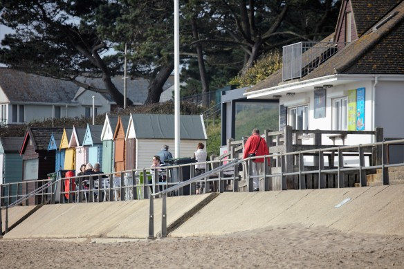 Friars Cliff Cafe and beach huts