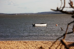 boat and buoy