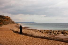 Hengistbury Head and beach