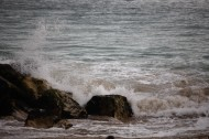 Spray on rocks