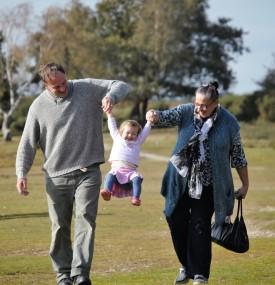 Jackie, Matthew and Poppy