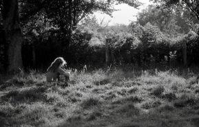 Jessica in field 1985 1