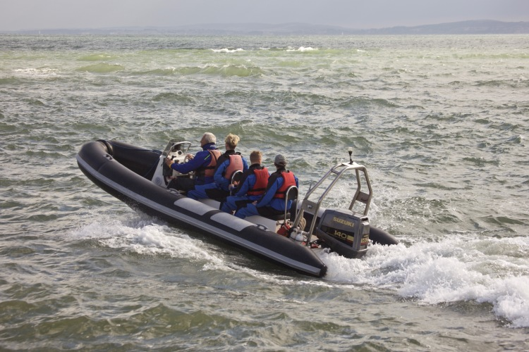 Motor dinghy 1