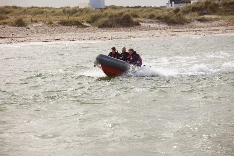 Motorised dinghy 3