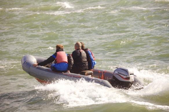 Motorised dinghy 4