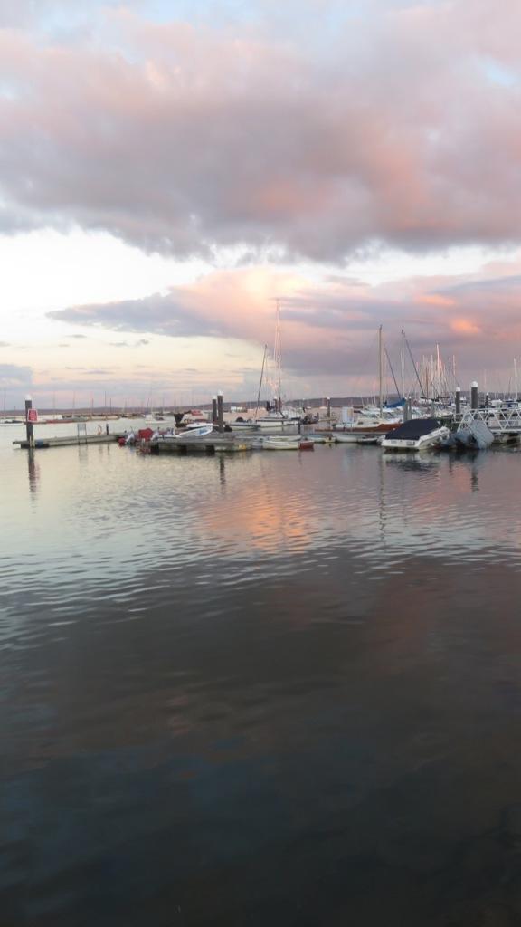 Sunset at Lymington