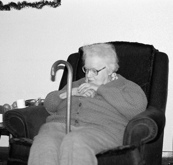 Auntie Gwen Christmas 1985