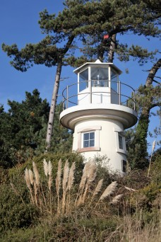Lighthouse shaped house