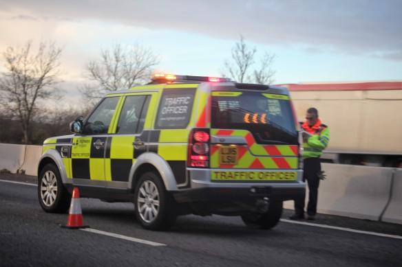 Traffic Officer van