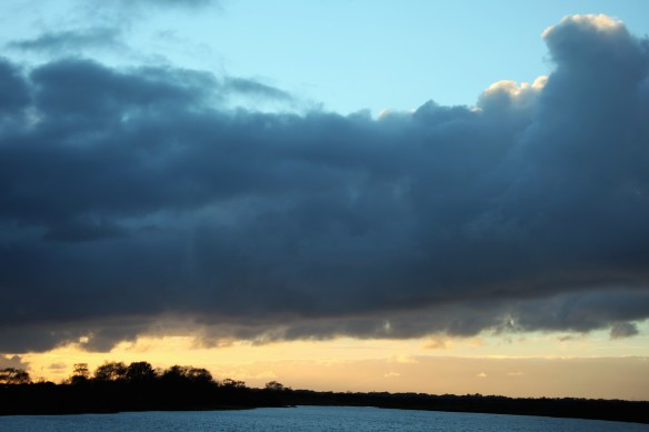 Skyscape over Hatchet Pond