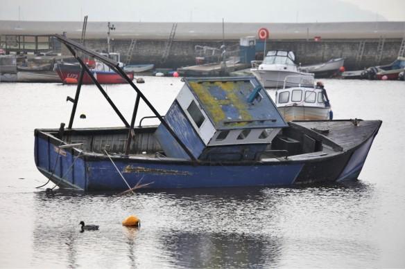 Boat damaged