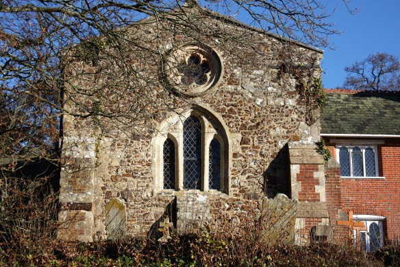 St Peter's Church wall