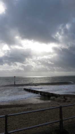 Sea and cloud scape