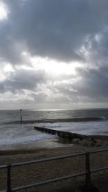 Clouds, sea, shingle