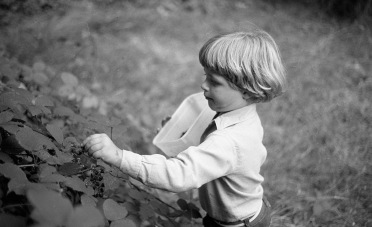 Sam blackberrying 1985