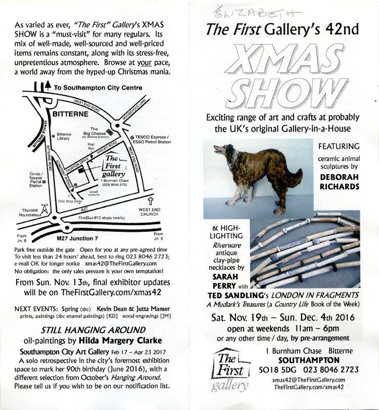 Xmas show brochure