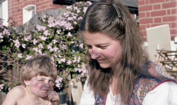 Jessica and Sam Summer 1986