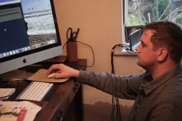 James Peacock setting up broadband
