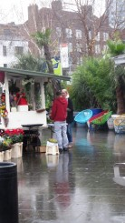 Stall outside La Cubana