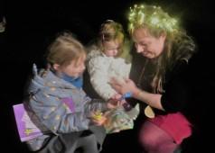 Tess, Poppy, and little girl
