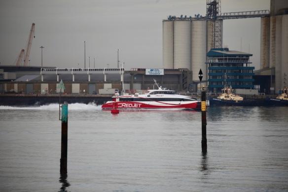 Red Jet speedboat