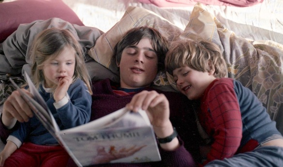 Matthew reading to Sam & Louisa