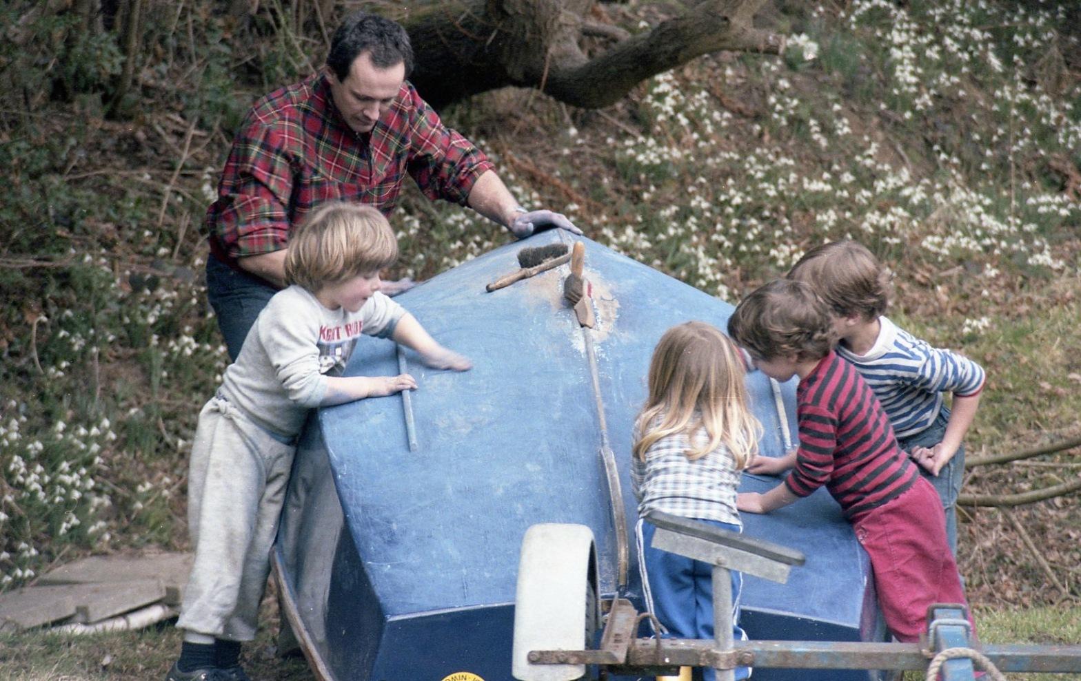 Sam, Louisa, Nick, Jack & Dora 1986 2