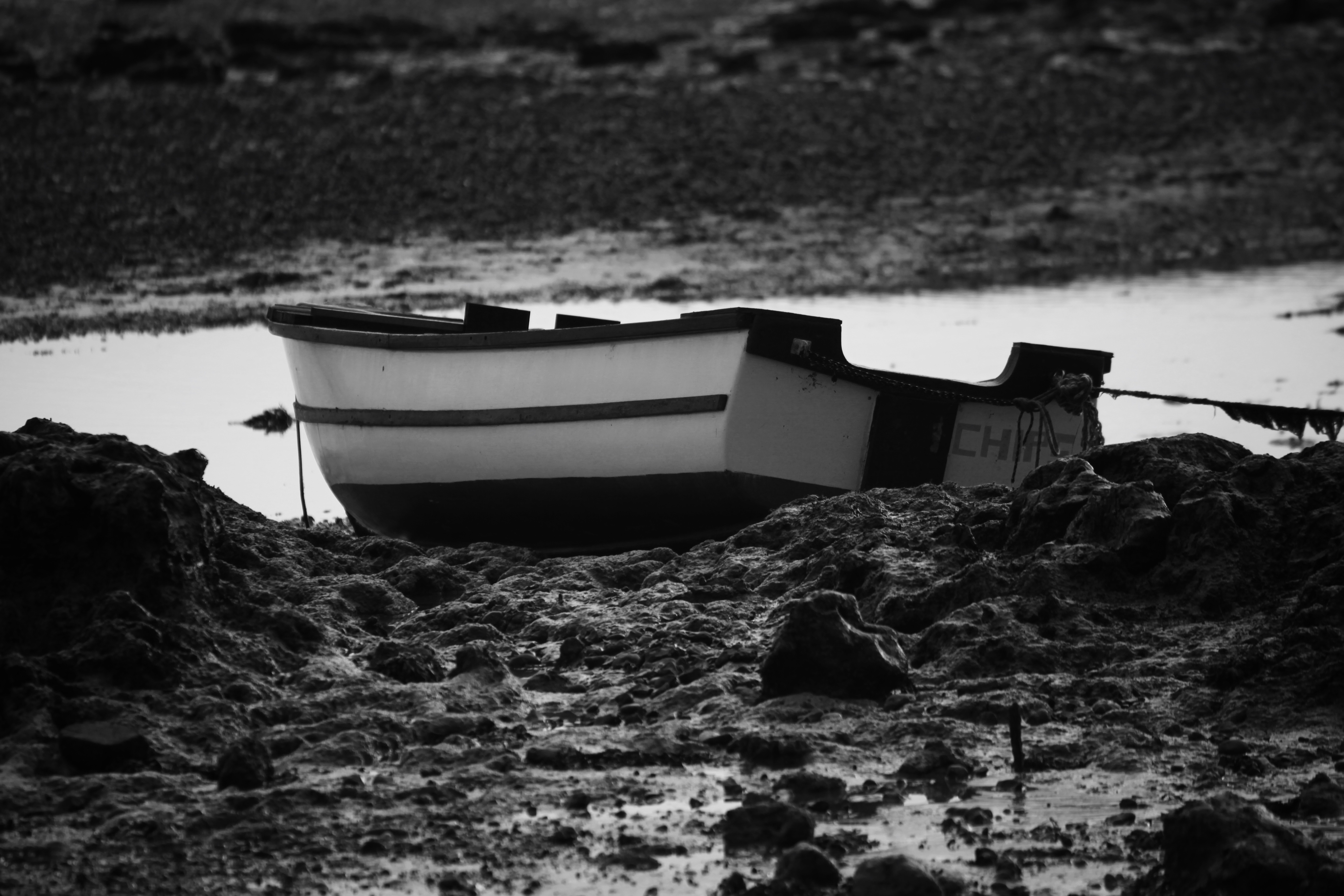 Beached boat 2
