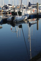 Yachts and reflections 1