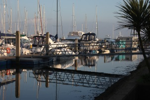 Yachts and reflections 2