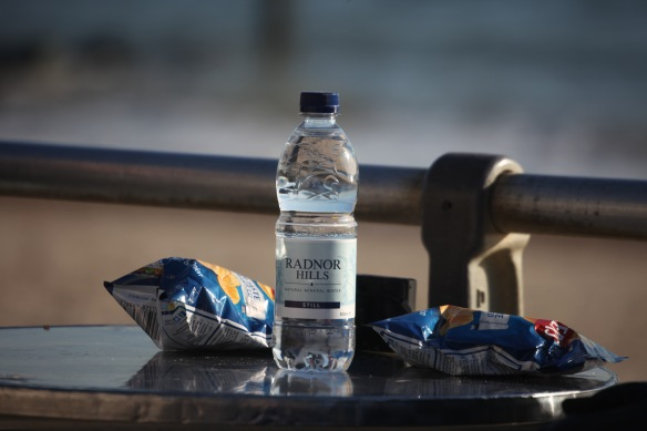 Water and crisps