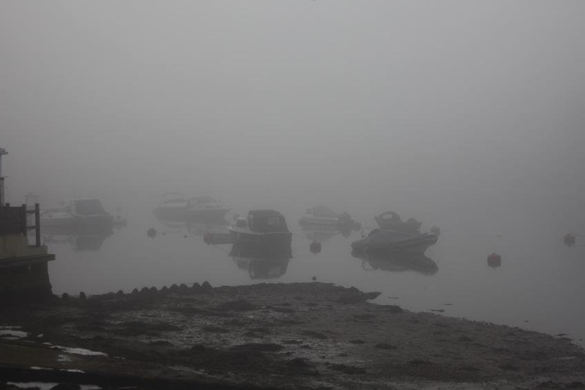 Boats in fog 2