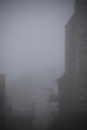 St Leonard's Grange in fog 2