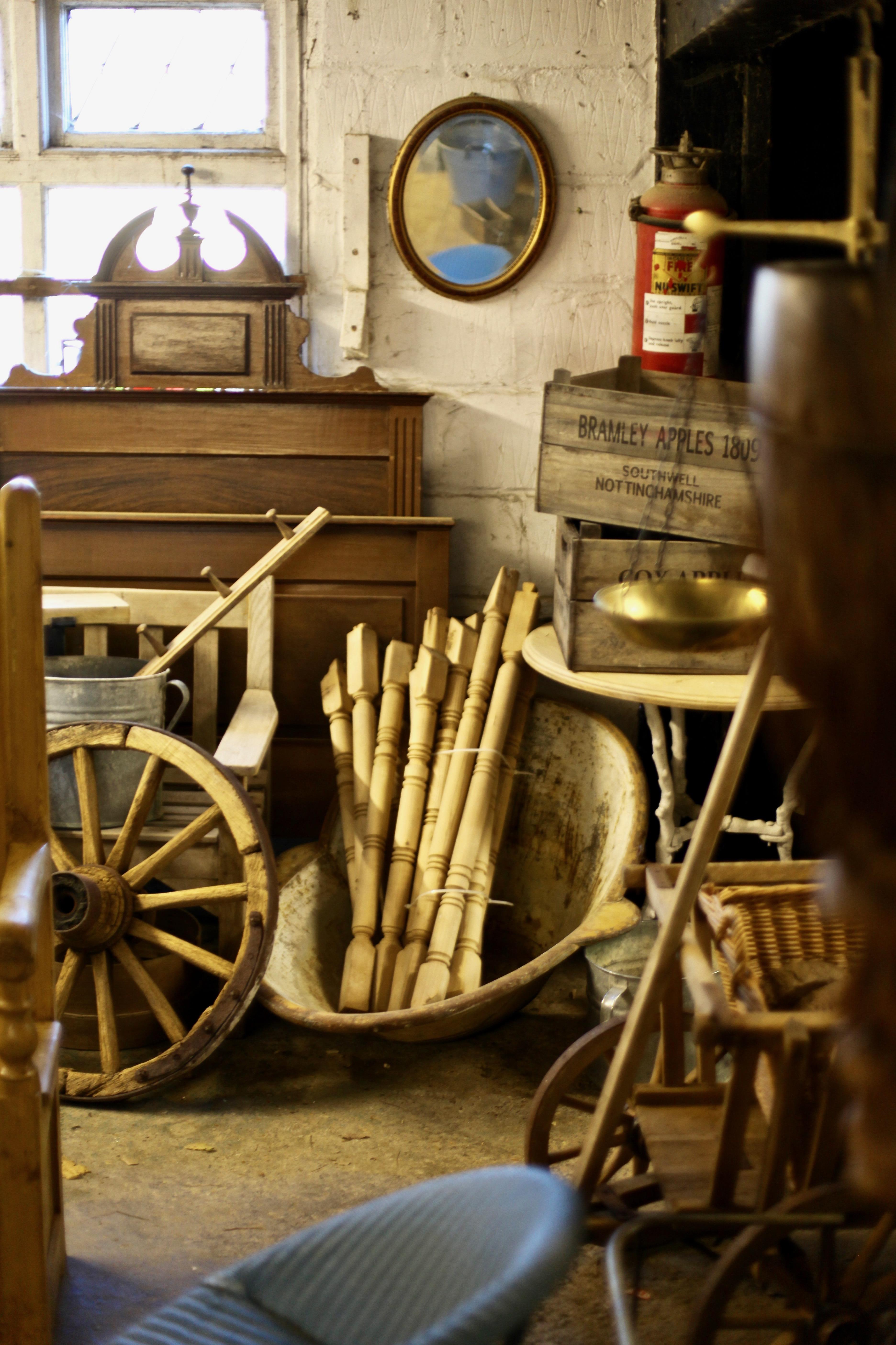 Wooden artefacts 1