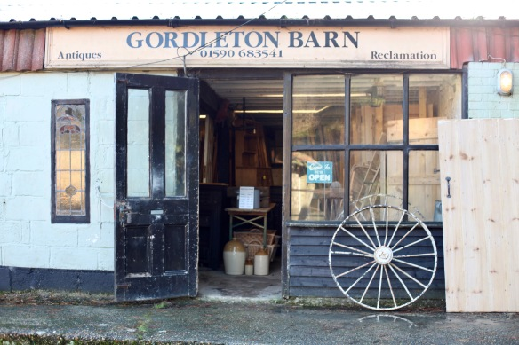 Gordleton Barn entrance 2