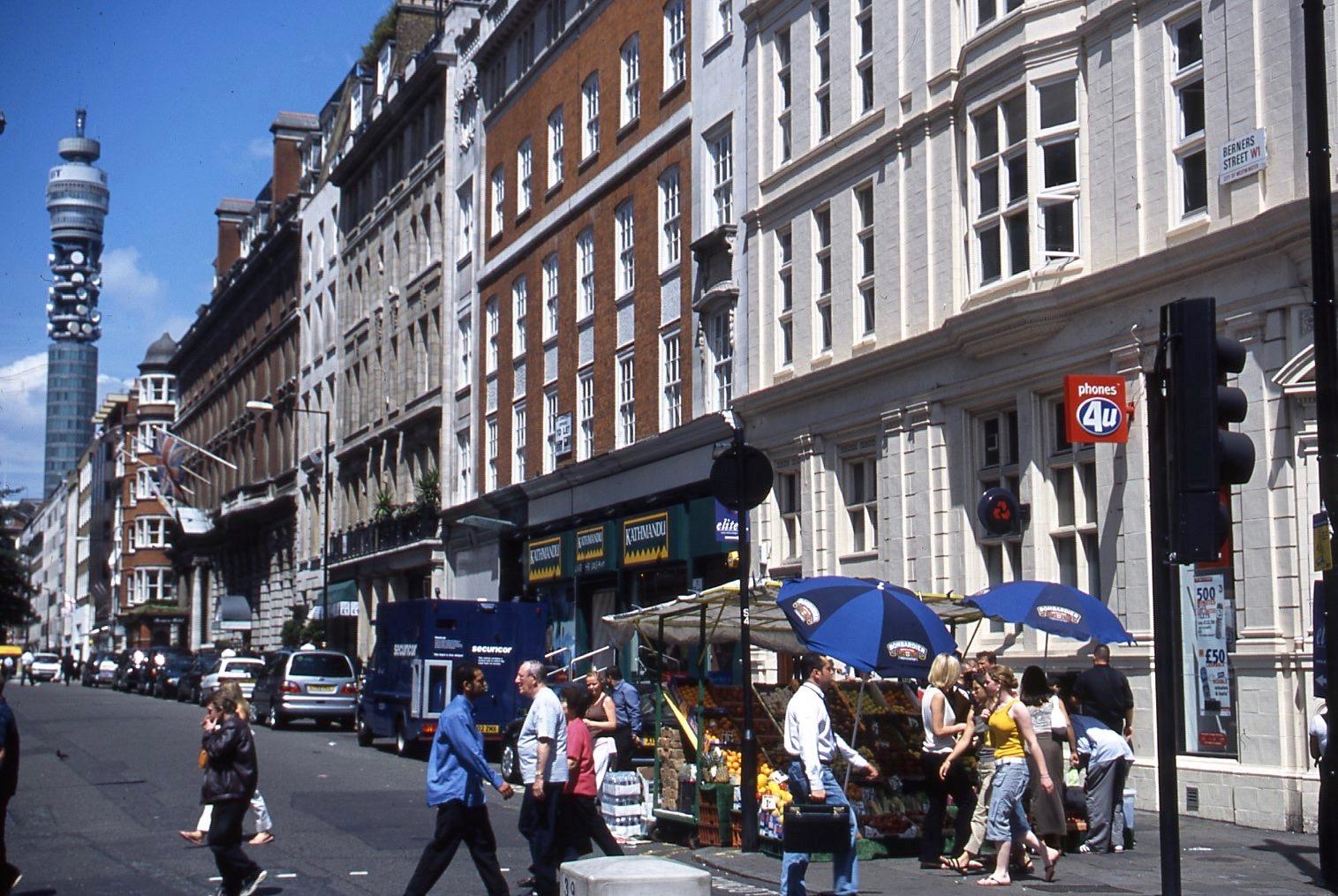 Berners Street W1