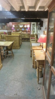 Gordleton Barn interior 1