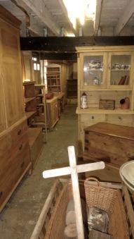 Gordleton Barn interior 2