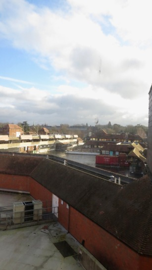 View from Travelodge window 1a