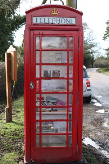 Telephone Box book exchange 1