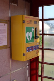 Telephone box defibrillator 2