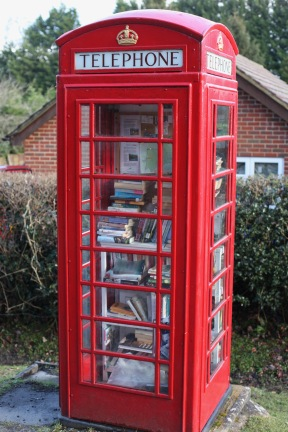 Telephone Box book exchange 4