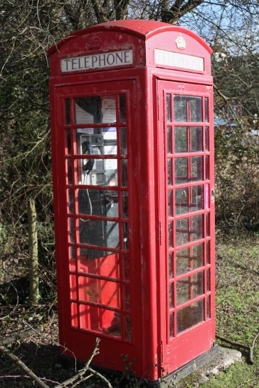 Telephone box disconnected 1