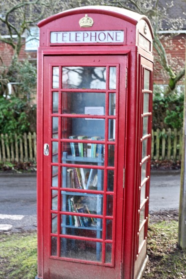 Telephone Box book exchange 6