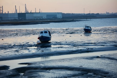 Boats at low tide 1