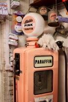 Pink Paraffin pump