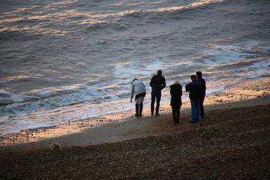 Group on beach 1